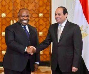 الرئيس السيسي يجري اتصالا هاتفيا مع الرئيس الجابوني حول تعزيز التعاون بين البلدين