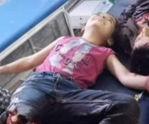 أردوغان قاتل البراءة.. تهتك طفلة كردية من الغزو الفاشي على سوريا (فيديو)