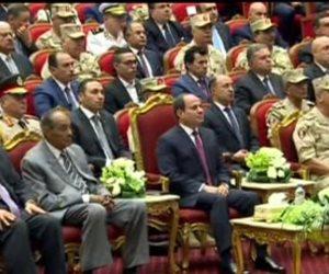 الرئيس السيسى: أى حوار لازم يكون بمعلومات كاملة وبذاكر مشاكل مصر من 40 سنة