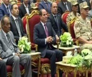 الرئيس السيسي: بقوة الجيش المصرى لا يستطيع أحد التدخل فى الدولة المصرية
