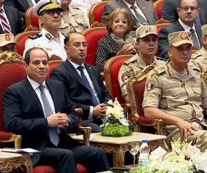 الرئيس السيسى للمصريين: عليكم وضع مصلحة الوطن نصب أعينكم