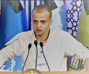 """البطل أحمد فوزى حسن: """"سيناء فيها وحوش ومصر هتفضل قوية بشعبها وجيشها"""""""