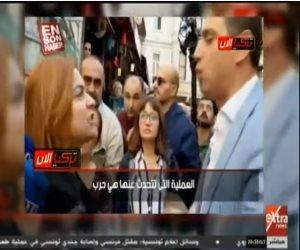 صوت الحق بيوجع.. شرطة أردوغان تتحرش بنائبة معارضة نظمت مظاهرة تنديد بالحرب على سوريا (فيديو)
