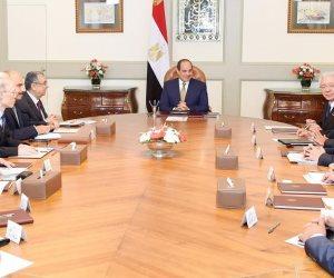 السيسي لرئيس «تويوتا»: مصر مؤهلة لتصبح محورا للصناعات والمنتجات اليابانية