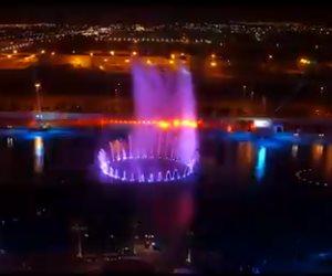 تركي آل الشيخ يكشف موعد اكتمال نافورة موسم الرياض (فيديو)