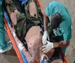 خريجو طب القوات المسلحة يستعرضون مهاراتهم الطبية أمام الرئيس السيسي