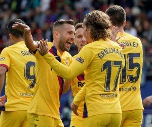 برشلونة يحافظ على صدارة «الليجا».. «البرغوث» يعتلي عرش الدوري الإسباني مؤقتا