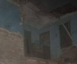 غرفة عمليات محافظة القاهرة: العقار المنهار بالخليفة صادر له قرار إزالة  (صور)