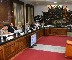 تفاصيل زيارة الرئيس السيسي للكلية الحربية وحضور اختبارات الهيئة للطلبة الجدد (فيديو)