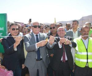 بمحطة طاقة شمسية و 40 صوبة زراعية..  الحكومة تدعم تجمع «أبو غراقد» بجنوب سيناء (صور)