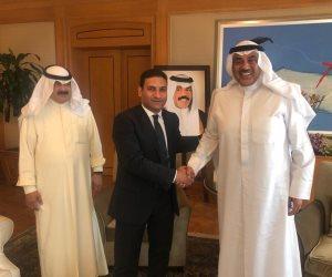 وزير خارجية الكويت: ندرك خطورة المخططات التى تحاك ضد أشقائنا ونؤيد الإجراءات التى تقوم بها مصر لحماية أمنها ومواطنيها