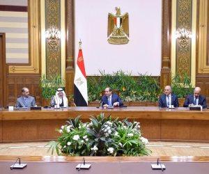 الرئيس: يجب أن تكون الأنهار العابرة للحدود مصدراً للتآخي وليس الصراع ومصر تبذل مساعي حثيثة للخروج من أزمة سد النهضة