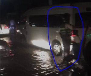 فيديوهات الواقع تنسف مزاعم السوشيال ميديا.. أفراد الداخلية بالشوارع لإدارة أزمة الأمطار