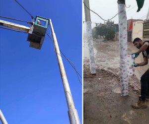 طوارئ 24 ساعة.. شمال سيناء تعلن عن جاهزيتها للأمطار والسيول المحتملة (صور)
