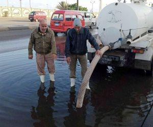 استمرار رفع حالة الطوارئ.. المحافظات تواجه آثار الطقس السيئ
