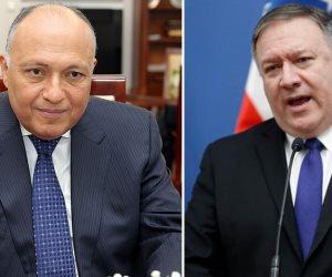 وزير الخارجية الأمريكى يؤكد ضرورة التوصل لاتفاق عادل فى سد النهضة يحقق مصالح الدول الثلاث