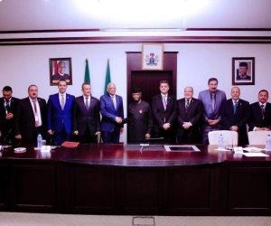 علي عبد العال يلتقي نائب رئيس نيجيريا