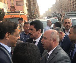 وزير يعزي أهالي ضحية حادث القطار بالإسكندرية (صور)