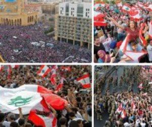 مع نزايد احتجاجات المتظاهرين .. الرئيس اللبناني يجري مشاورات لتشكيل الحكومة