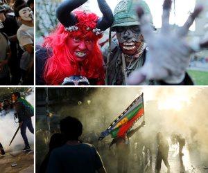 جولة في صحف العالم.. احتفالات مرعبة حول العالم بعيد «الهالوين»