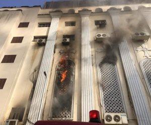 إيبارشية كنائس شبرا الجنوبية تعلن تفاصيل حريق كنيسة مارجرجس بالجيوشي