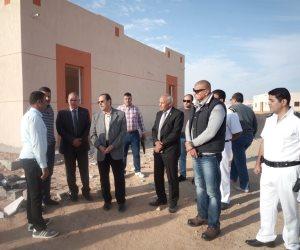 محافظ شمال سيناء : إنهاء العمل بالتجمعات التنموية بنسبة 80% بوسط سيناء (صور)