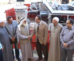 مؤسسة أهلية تدعم قطاع الصحة بشمال سيناء بأجهزة طبية ( صور)