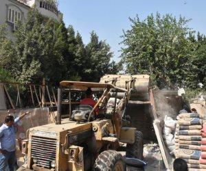 حملات بالقاهرة الجديدة لغلق المولات المخالفة