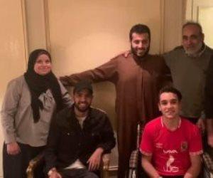 تركى آل الشيخ يعلن انضمام المشجع حمصه إلى مؤمن زكريا فى رحلة العلاج (فيديو)