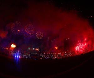مصر تبهر العالم مُجددا بحفل أسطوري لافتتاح أمم افريقيا للشباب (صور)