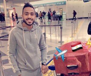 كهربا يصل للقاهرة وينضم للمنتخب