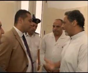 المسجون حازم عبد العظيم من طره : وضع السجن أفضل بكثير مما تخيلت وطالبنا حل أزمة قطع المياه (فيديو)