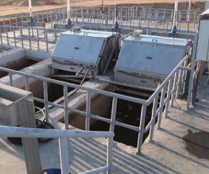 تفاصيل إنشاء أكبر محطة معالجة للصرف الصناعي بالعاشر من رمضان