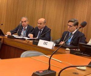 عمر مروان يشرح فى جنيف تفصيلات إعداد مصر لملف آلية الاستعراض الدوري الشامل لحقوق الإنسان