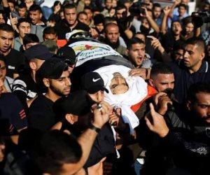 تشييع جثمان الشهيد بهاء أبو العطا القيادى فى حركة الجهاد الإسلامى