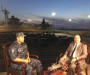 اللواء ياسر القاضي قائد ترسانة القوات البحرية في حوار خاص مع محمد الباز بـ90 دقيقة.. الليلة