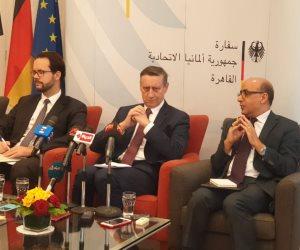 سفير ألمانيا بالقاهرة: التعاون مع مصر فى مكافحة الإرهاب مبنى على الثقة بها