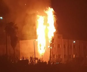 حريق في خط أنابيب بالبحيرة.. وقطع الكهرباء وورفع الطوارئ بالمستشفيات