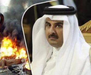 وجه قطر  القبيح.. تنظيم الحمدين يستغل الجمعيات الخيرية لدعم وتجنيد الإرهابيين علي حدود سوريا