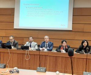 خبراء في ندوة مجلس حقوق الإنسان الدولي: مصر لديها إرادة سياسية لتحسين أوضاع حقوق الإنسان بشكل شامل