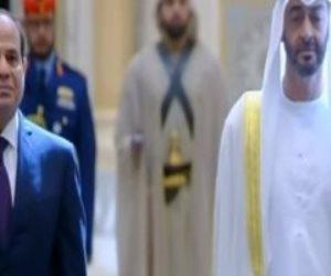 شاهد.. مراسم الاستقبال الرسمية للرئيس السيسي في قصر الوطن بأبوظبي