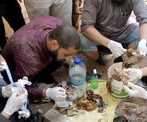 تفاصيل اكتشاف تعاويذ وأعمال السحر الأسود داخل مقابر الصعيد