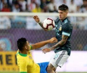 """البرازيل ضد الأرجنتين.. ميسي يهز شباك السليساو فى الدقيقة 14 """"فيديو"""""""