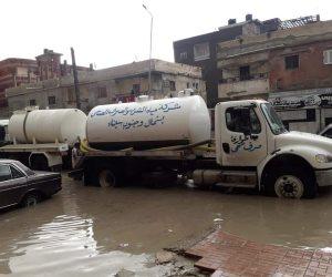 طوارئ في شمال سيناء.. وغرف عمليات مستمرة لمتابعة الظروف الجوية