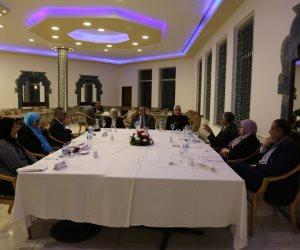 محافظ شمال سيناء يستقبل رئيس هيئة ضمان جودة التعليم والاعتماد (صور)