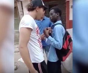 متهمو فيديو التنمر على طالب إفريقي يعترفون بجريمتهم أمام النيابة العامة