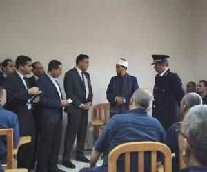 وفود برلمانية وحقوقية وإعلامية تشيد بأوضاع النزلاء بسجن برج العرب