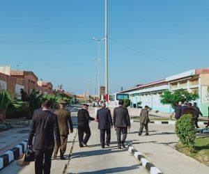 """مساعد وزير الداخلية لقطاع السجون لـ""""وفد حقوق الإنسان"""" من برج العرب: ليس لدينا ما نخفيه (صور)"""