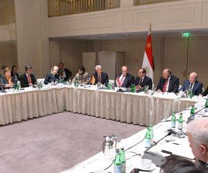 الشركات الألمانية تشيد بالمتابعة الشخصية للسيسي لتسهيل عملها وبالتطور الملحوظ في الاقتصاد المصرى