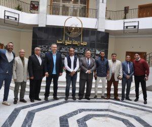 حسام عاشور من جامعة حلوان: تم رفضي في اختبارات الأهلي مرتين .. وعبد الحفيظ: نحن مؤسسة قيم